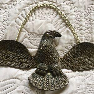☘️VTG Brass Eagle Wall Hanging☘️